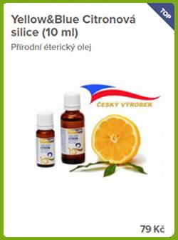 Esenciální olej citron