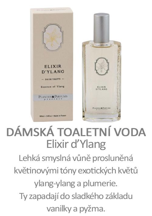 Parfém, toaletní voda Elixir d´Ylang