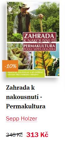 Zahrada k nakousnutí - permakultura