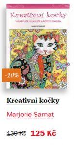 Kreativní kočky - antistresové omalovánky