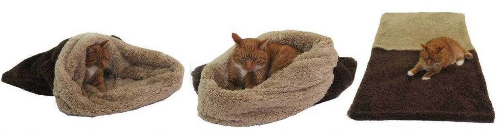 Spací pytel 3v1 de luxe XL kočka