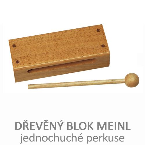 Dřevěný blok, hudební nástroj