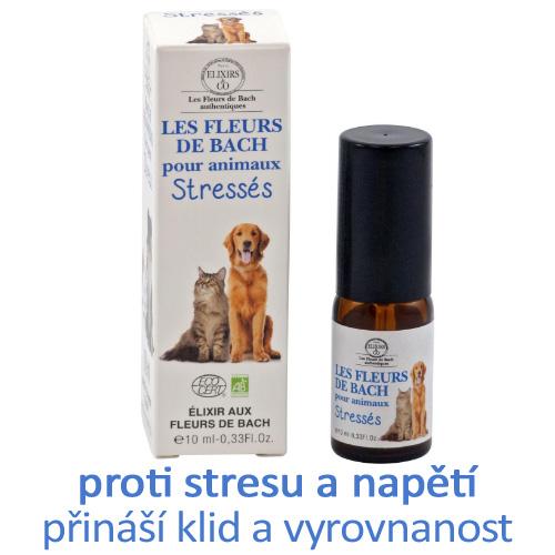 Bachovy kapky STRES - pro zvířata, proti stresu a napětí, přináší klid a vyrovnanost
