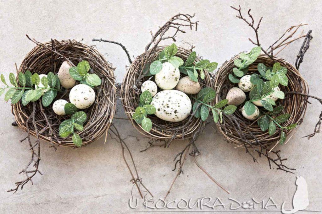 Květná neděle, jaro, Velikonoce, jarní dekorace