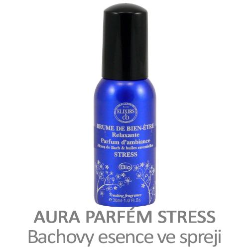 Aura parfém STRESS, Bachovy esence ve spreji, s levandulí