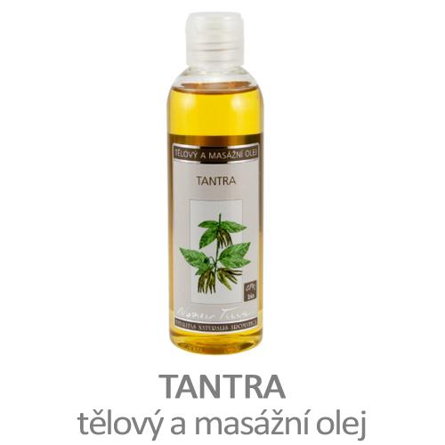 Tantra - tělový a masážní olej