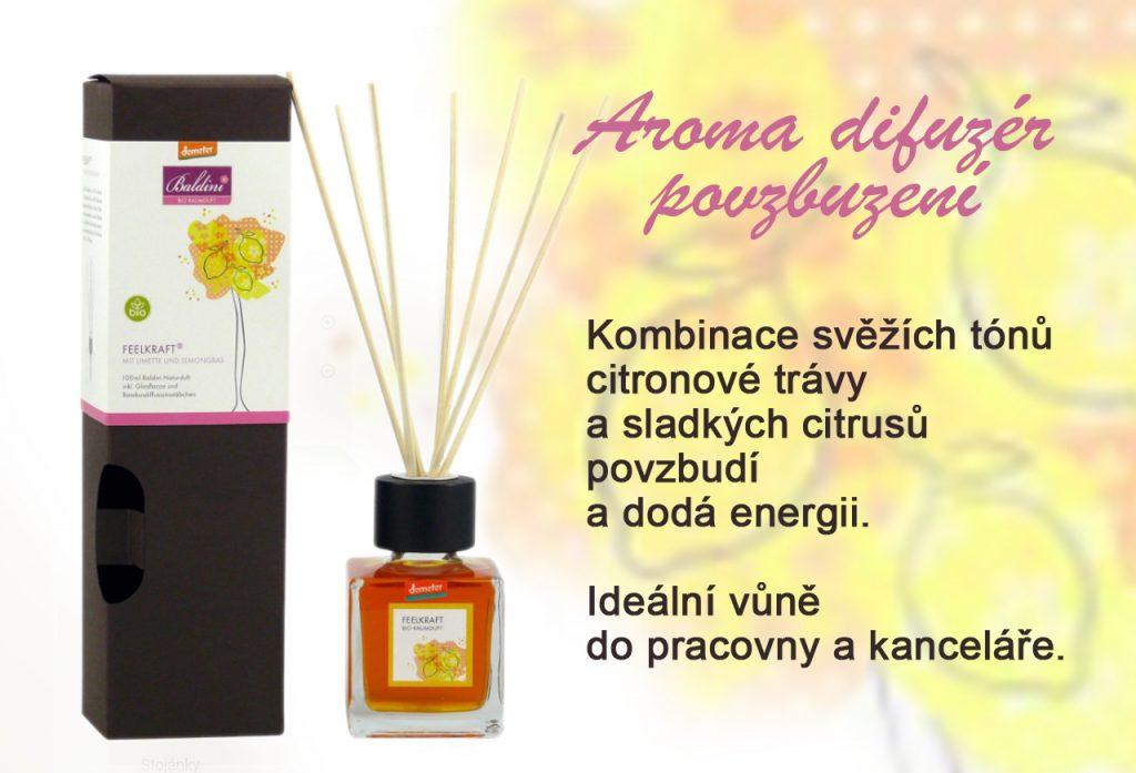 Aroma difuzér povzbuzení