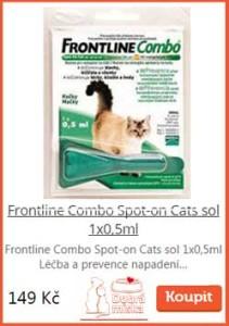 Frontline Combo pro kočky
