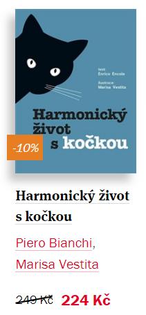 Kniha Harmonický život s kočkou