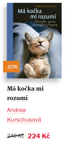 Kniha Má kočka mi rozumí