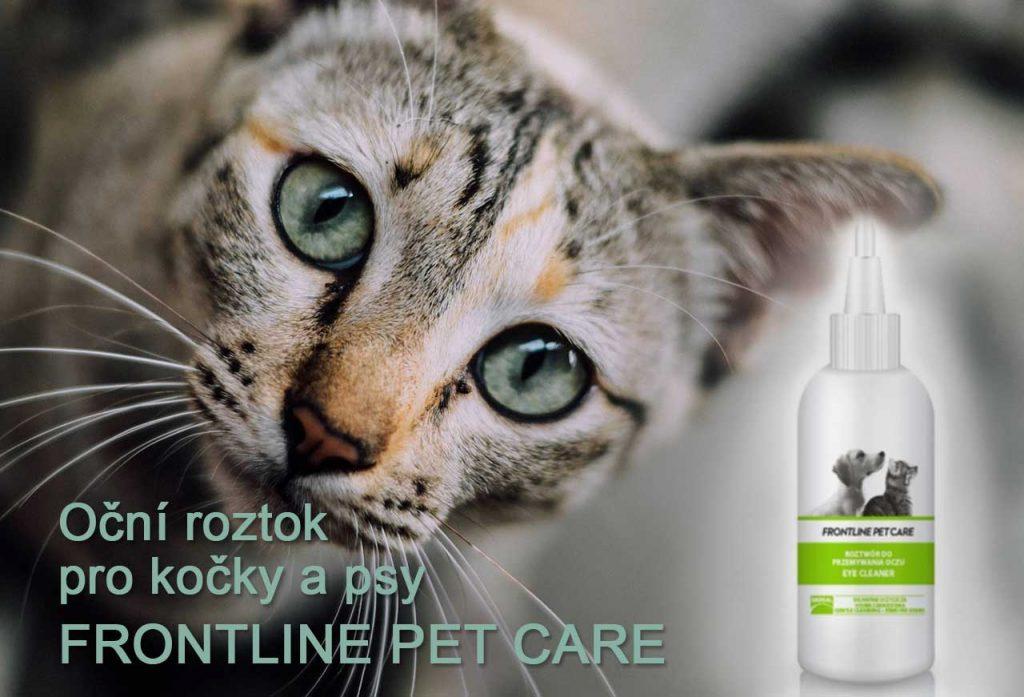 Oční kapky pro kočky a psy