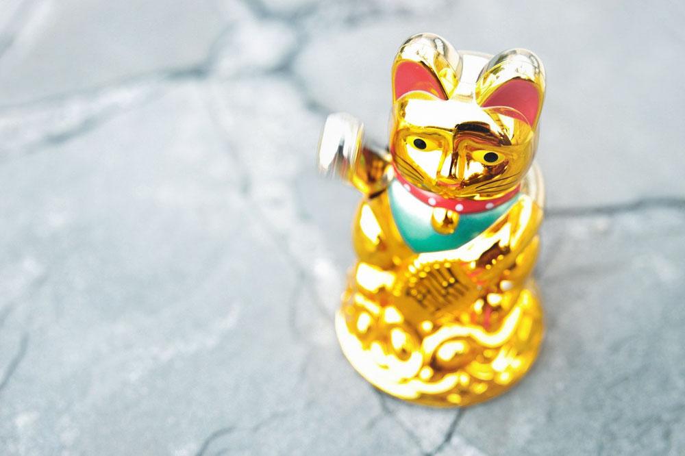 Maneki neko - kočka pro štěstí