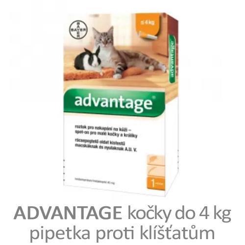 Advantage pipetka pro kočky
