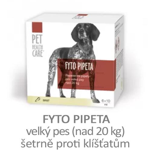 Fyto pipeta proti klíšťatům, přírodní, velký pes