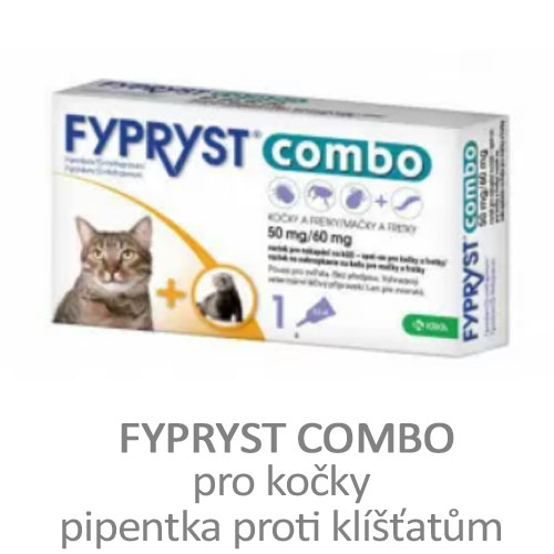 Fypryst Combo, pipetka pro kočky a fretky