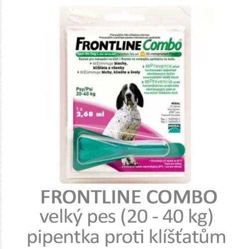 Frontline Combo velký pes