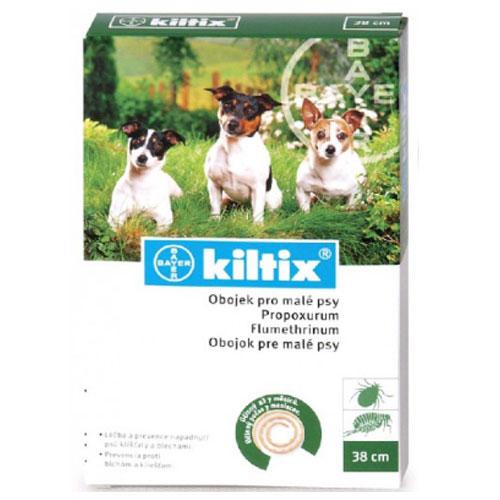 Kiltix - obojek proti klíšťatům pro psy