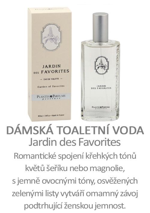 Parfém, toaletní voda Jardin des Favorites