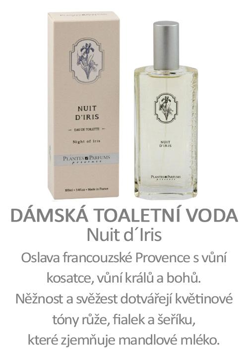 Parfém, toaletní voda Nuit d´Iris