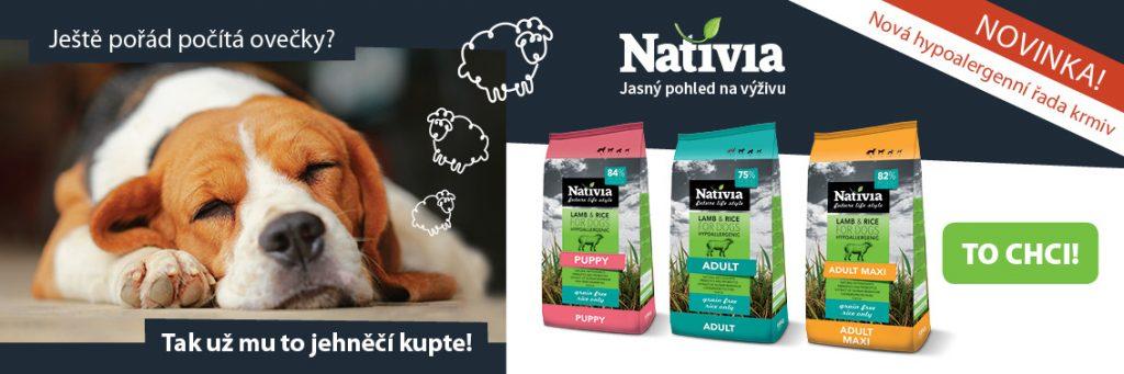 Hypoalergenní granule Nativia