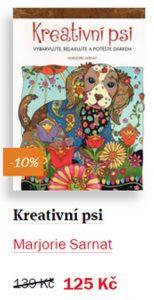 Kreativní psi - antistresové omalovánky