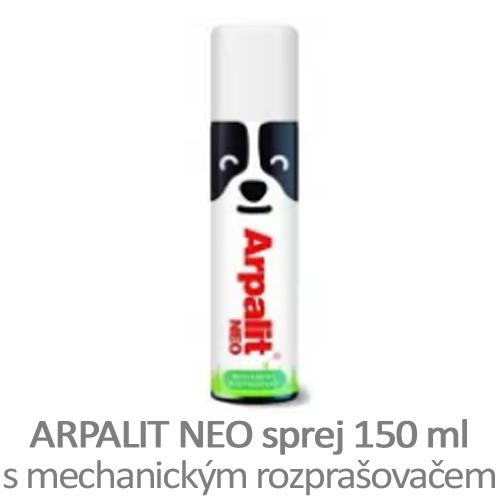 Sprej proti klíšťatům Arpalit NEO, s mechanickým rozprašovačem