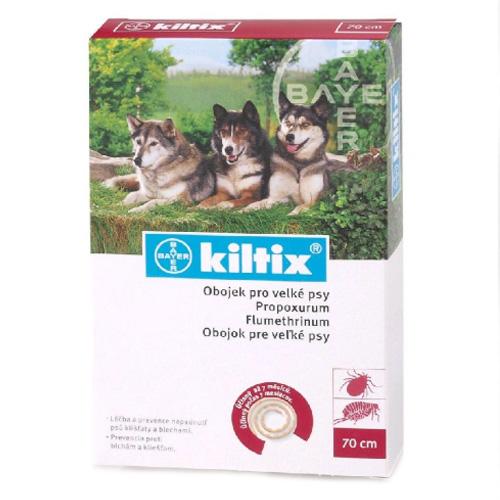 Obojek proti klíšťatům Kiltix velký pes