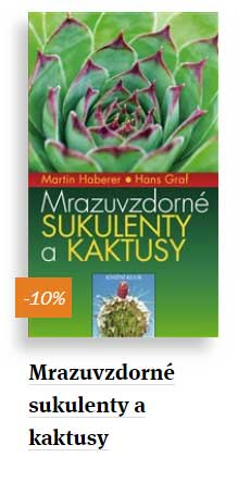 Mrazuvzdorné kaktusy a sukulenty - kniha