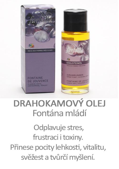 Drahokamový olej Fontána mládí