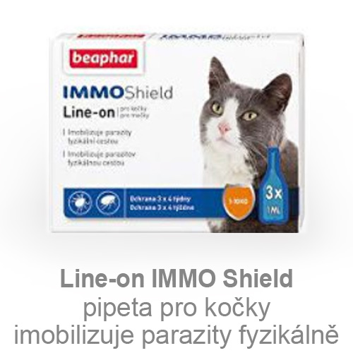 Line-on IMMO Shield kočka