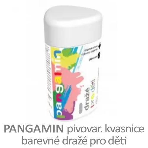 Pangamin pro děti, barevné dražé