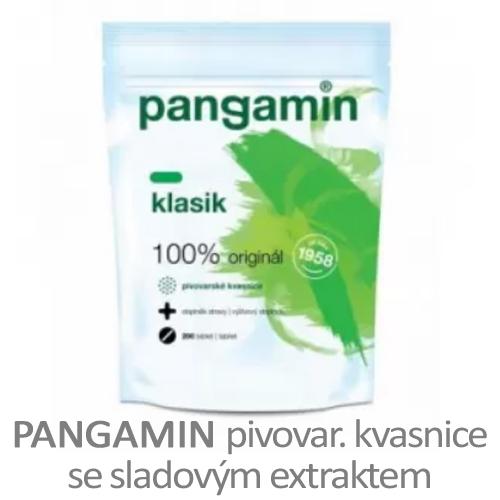 Pangamin - pivovarské kvasnice