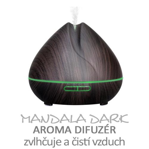 Aroma difuzér Mandala dark