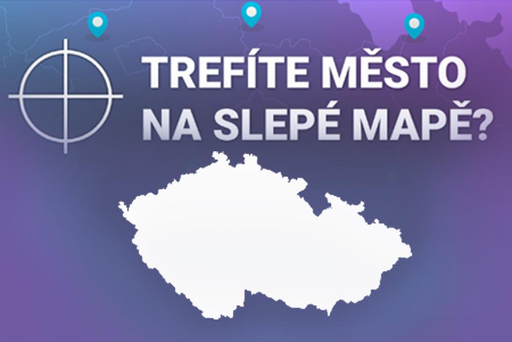 Slepá mapa Česka