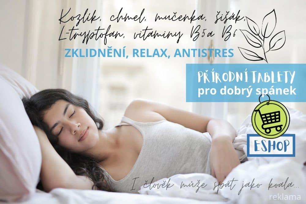 Přírodní tablety na spaní