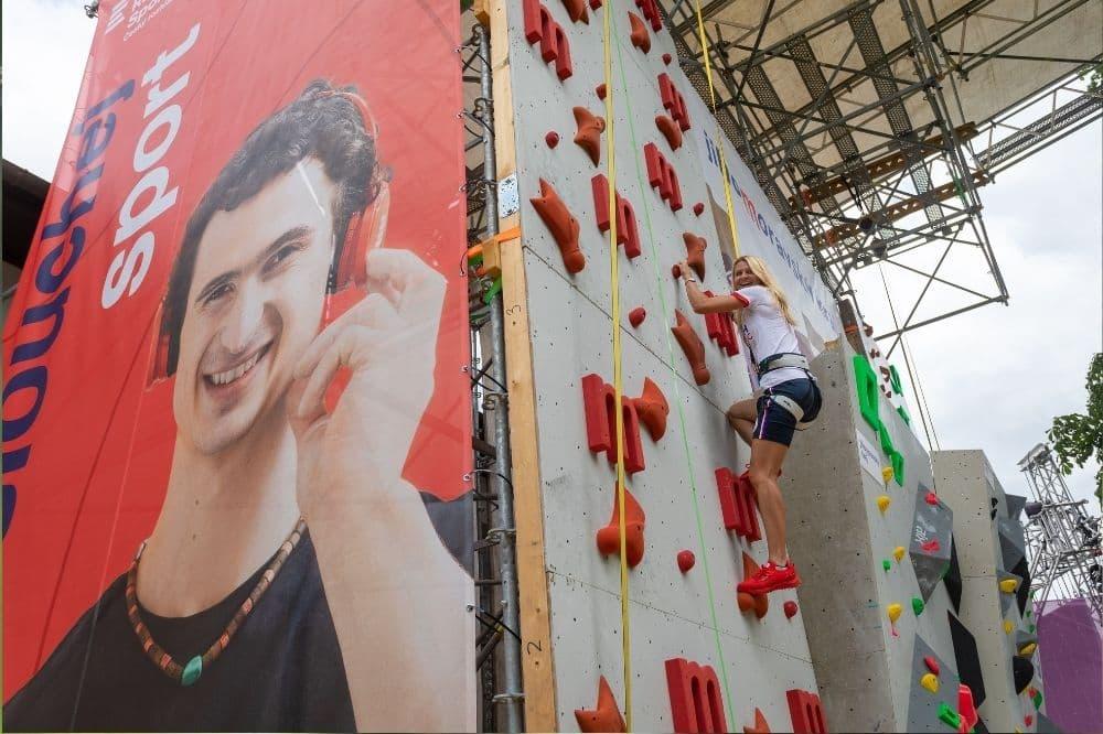 Olympijský festival Brno, lezení