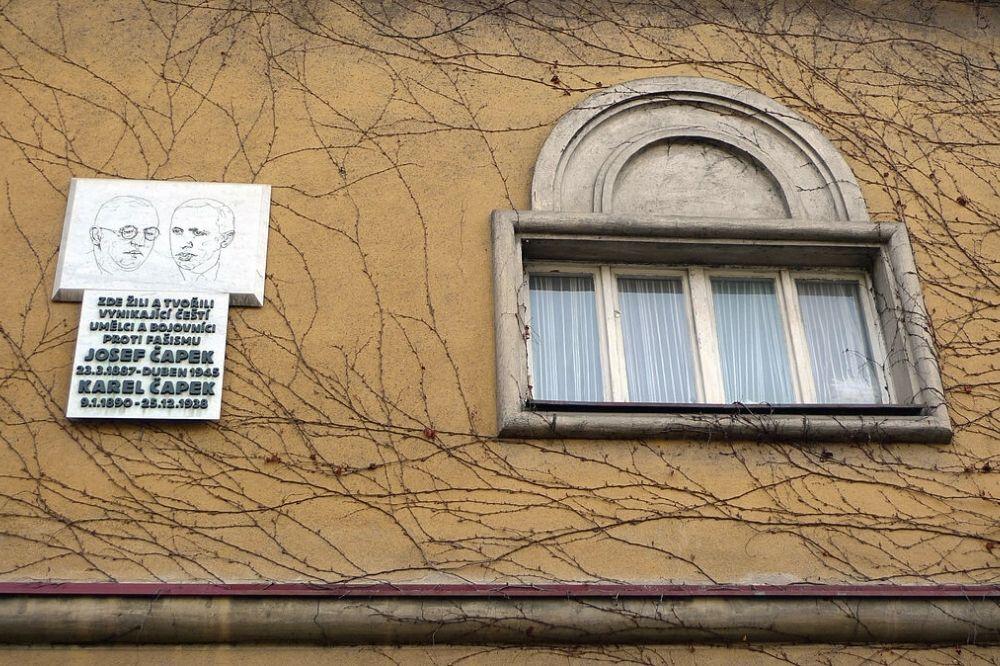 Vila bratří Čapků, Vinohrady